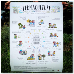 Permaculture Action Poster